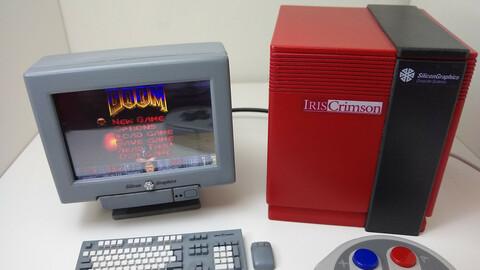 Silicon Graphics Monitor Raspberry Pi Case