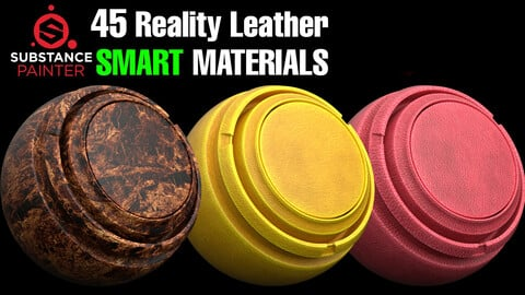 🔥45 Reality Leather Smart Material Bundle✅