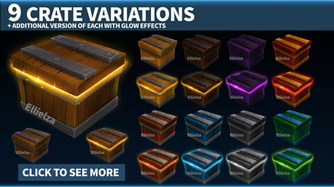 9 Crate Lootbox Variations