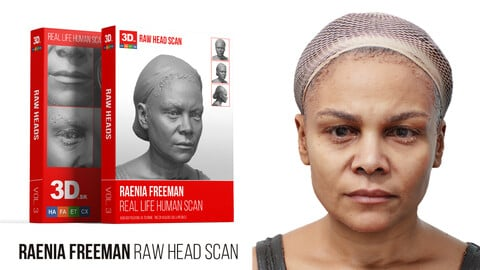 Raenia Freeman Raw 3D Head Scan
