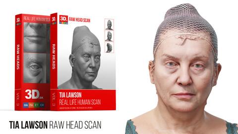 Tia Lawson Raw 3D Head Scan