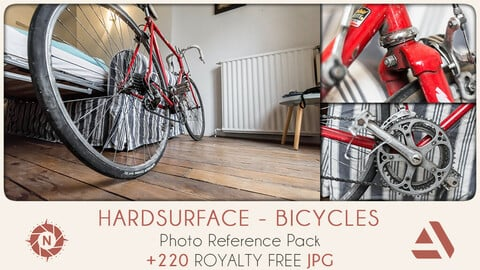 Photo Reference Pack: Hardsurface - Bicycles