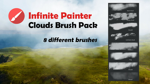 Infinite Painter Clouds Brush Pack