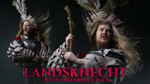 Landsknecht Photo Reference Pack For Artists 460+ JPEGs