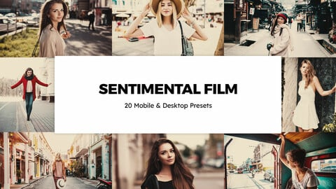 20 Sentimental Film LUTs and Lightroom Presets