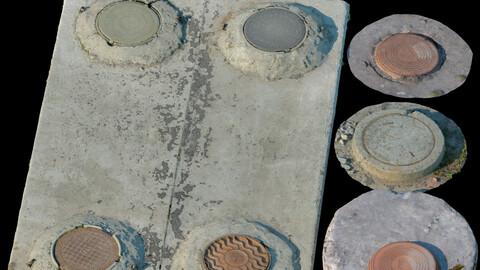Sewer manholes 194