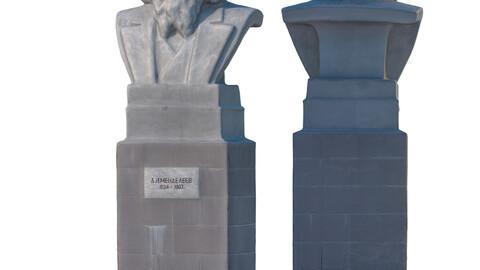 Sculpture Mendeleev 201