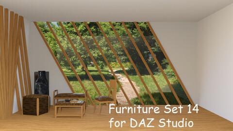 Furniture Set 14  for DAZ Studio