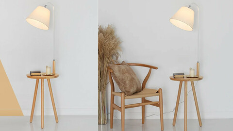 Limited quantity! LED Scandi Table Stand