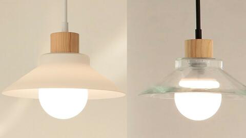 LED ray 1 light pendant_2colors