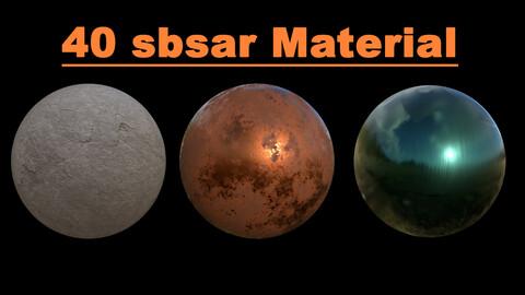 40 Sbsar Material