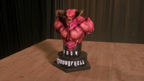 Bust Baron Of Hell