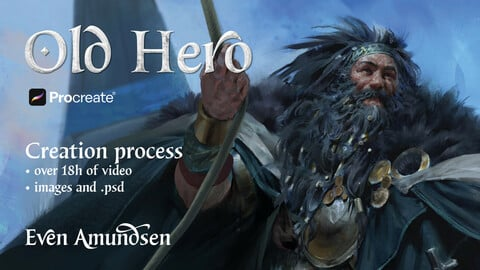 Process: Old Hero | TEGN Assignment