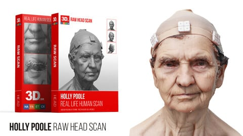Holly Poole Raw 3D Head Scan
