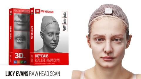 Lucy Evans Raw 3D Head Scan