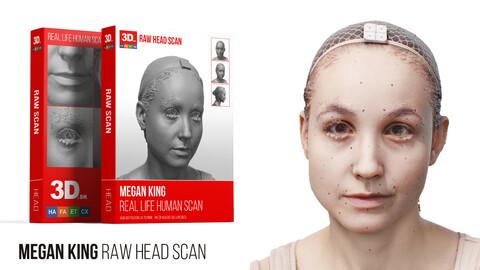 Megan King Raw 3D Head Scan