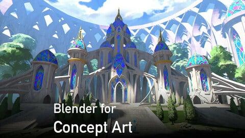 Blender for Concept Art