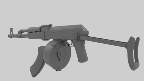 AK-47 With Foldable Stock