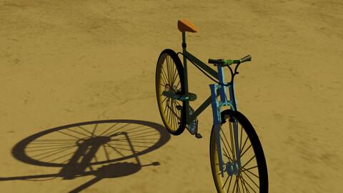 bicicleta low-poly