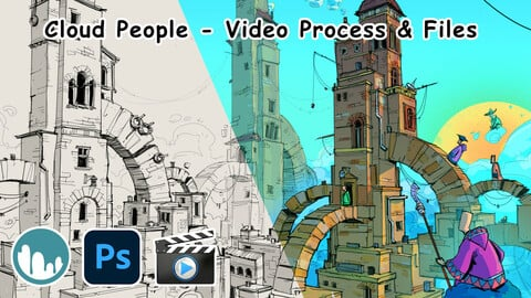 Cloud People (Video Process & Files)