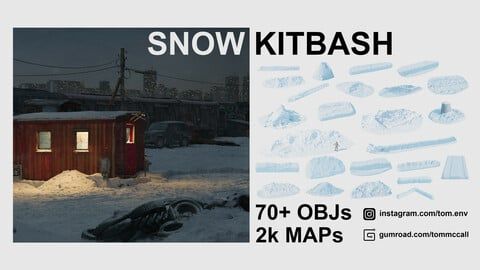 Easy Snow KitBash Pack