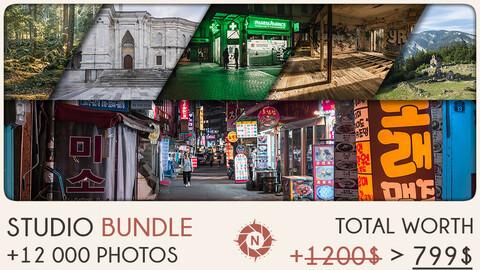 Studio Bundle: +12 000 reference photos + Free updates