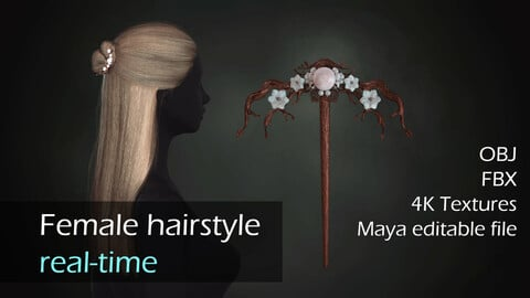Real-time hairstyle + hairpin