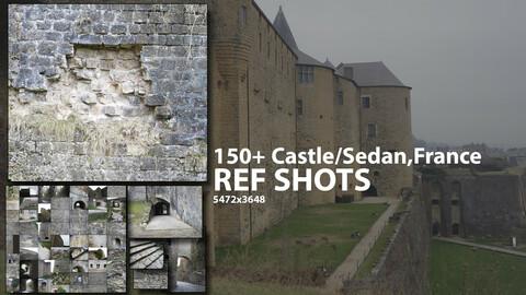 150+ Castle / Rock Reference Pack (Sedan,France)