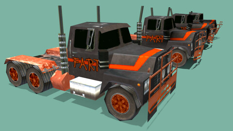 PSOne Low Poly Truck