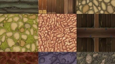 Quality ground tileset texture rpg maker MZ/MV