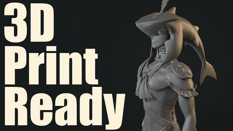 3D Print Ready Prince Sidon