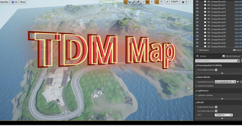 Battle royale / Team Deathmatch Map