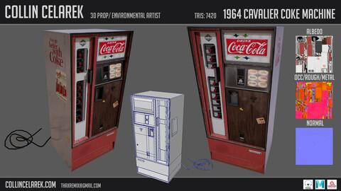 1964 Cavalier Coke Machine
