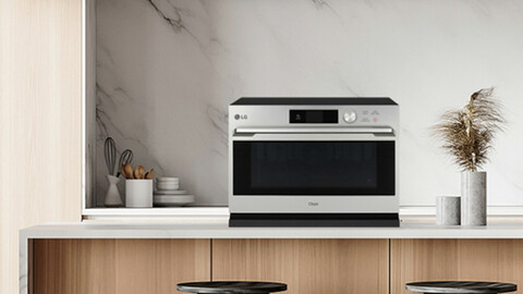 LG Object Collection Lightwave Oven ML32EW1
