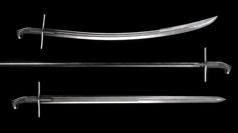 Hungarian Style Hussar Swords