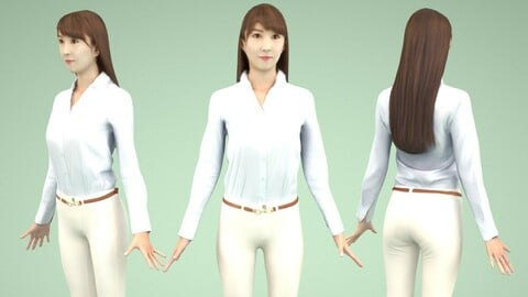 Animated 3D-people 010_Rika