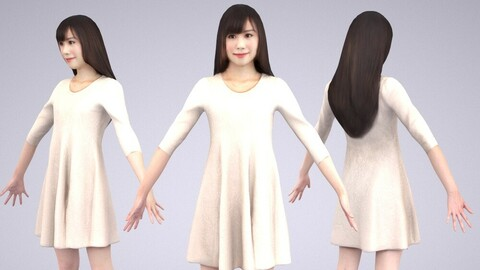 Animated 3D-people 074_Yui
