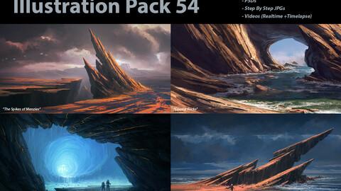Illustration Pack 54 (not a stock asset)