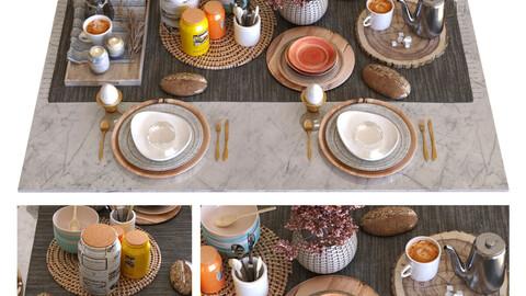 breakfast table set 011