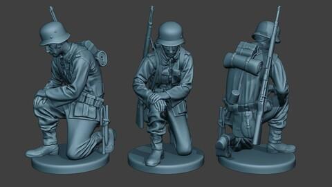 German soldier ww2 Praying G6