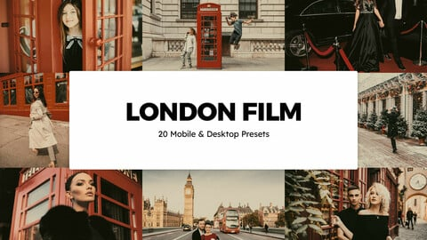 20 London Film LUTs and Lightroom Presets