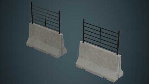 Concrete Barrier 2A
