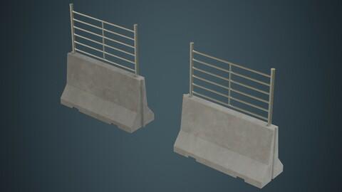 Concrete Barrier 2B