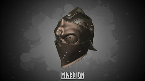 Apollyon Helmet For Honor 3d Print ready