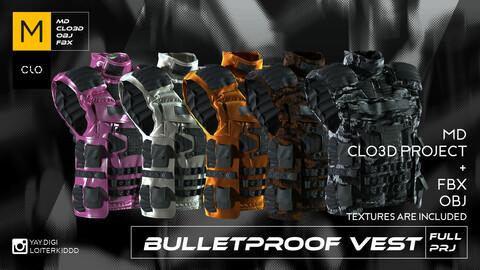 Bulletproof Body Armor (Bulletproof Vest)