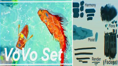 VoVo Procreate Brushset
