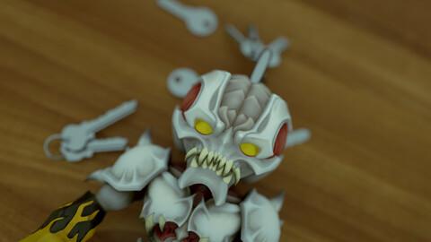 Doom Archville Keychain
