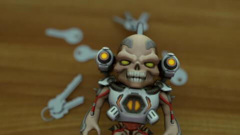 Doom Revenant Keychain