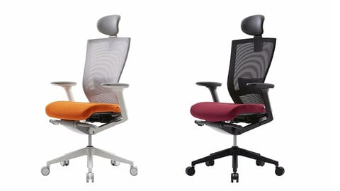 [Limited time] T500HLDA mesh chair 2type