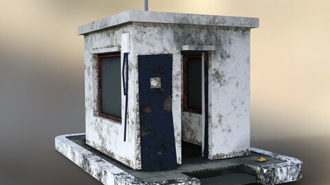Abandoned Security Cabine
